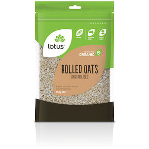 Lotus - Rolled Oats 'Unstabilised' 750g
