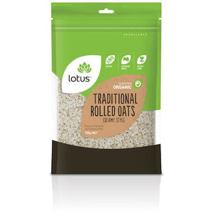 Lotus - Traditional Rolled Oats 'Creamy style' 500g