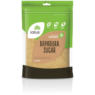 Lotus - Rapadura Sugar 375g