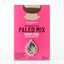 Loving Earth - Paleo Mix - Berry Choc 320g