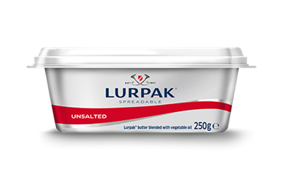 Lurpak - Unsalted Spreadable Butter 250g