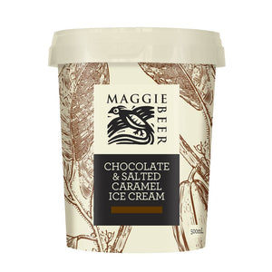 Maggie Beer - Chocolate & Salted Caramel Ice Cream 500ml