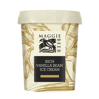 Maggie Beer - Rich Vanilla Bean Ice Cream 500ml