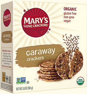 Mary's Gone Crackers - Organic Caraway Crackers 184g