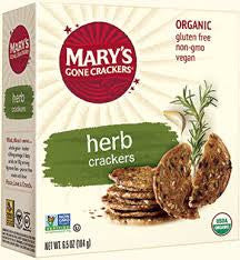 Mary's Gone Crackers - Organic Herb Crackers 184g