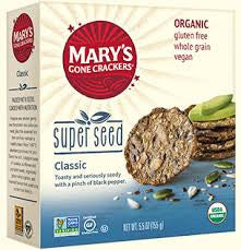 Mary's Gone Crackers - Organic Super Seed Crackers 184g