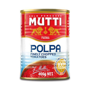 Mutti - Polpa Finely Chopped Tomatoes 400g