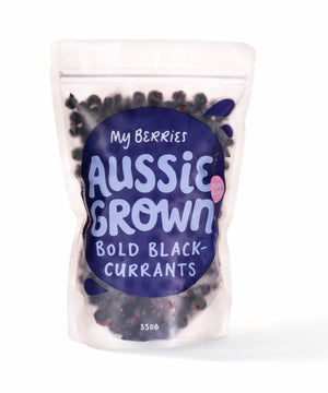 My Berries - Aussie Grown Bold Black Currents 350g