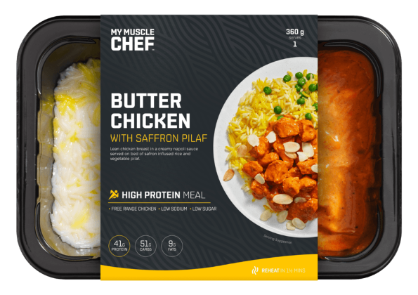 My Muscle Chef - Butter Chicken with Pilaf 360g