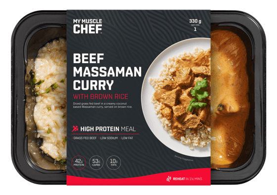 My Muscle Chef - Massaman Curry with Slow Cooked Beef 330g