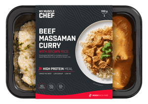 My Muscle Chef - Beef Massaman Curry with Brown Rice 330g