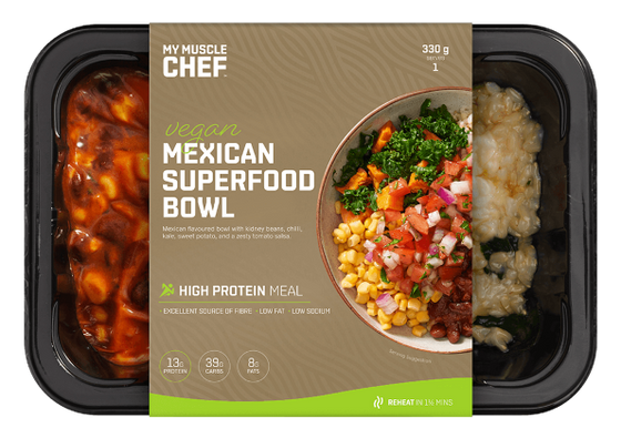 My Muscle Chef - Vegetarian Mexican Superfood Bowl 330g