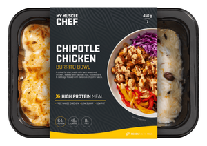 My Muscle Chef - Chipotle Chicken Burrito Bowl 450g