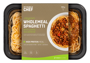 My Muscle Chef - Vegan Wholemeal Spaghetti with lentil Bolognese 330g