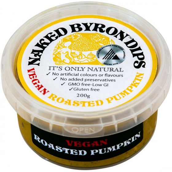 Naked Byron Dips - Vegan Roasted Pumpkin 200g