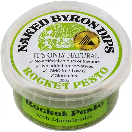 Naked Byron Dips - Rocket Pesto 200g