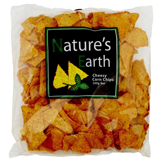 Nature's Earth - Cheesy Corn Chips 500g