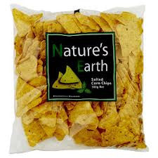 Nature's Earth - Salted Corn Chips 500g