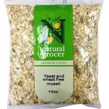 Natural Grocer Yeast & Wheat Free Muesli 750g