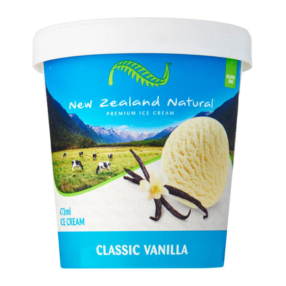 New Zealand Natural -   Premium Vanilla Ice Cream