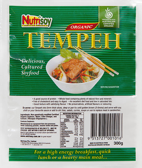 Nutrisoy - Organic Tempeh 300g