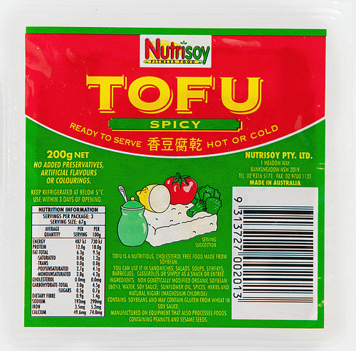 Nutrisoy - Tofu Spicy 200g