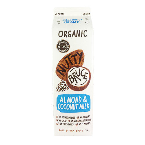 Nutty Bruce - Almond & Coconut Milk 1Lt