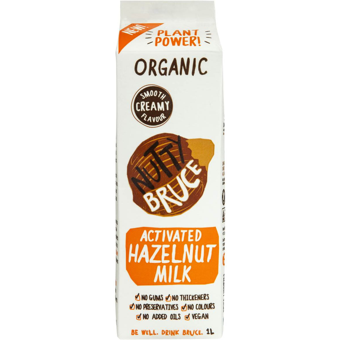 Nutty Bruce - Activated Hazelnut Milk 1Lt