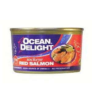 Ocean Delight - Sockeye Red Salmon 212g