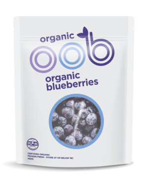 oob - Organic Blueberries 450g