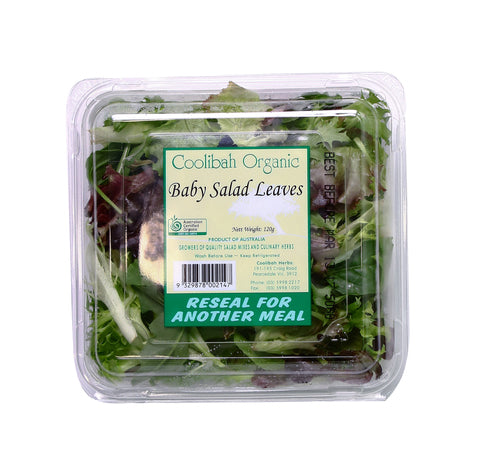 Lettuce Organic - Baby Salad Leaves (100g)