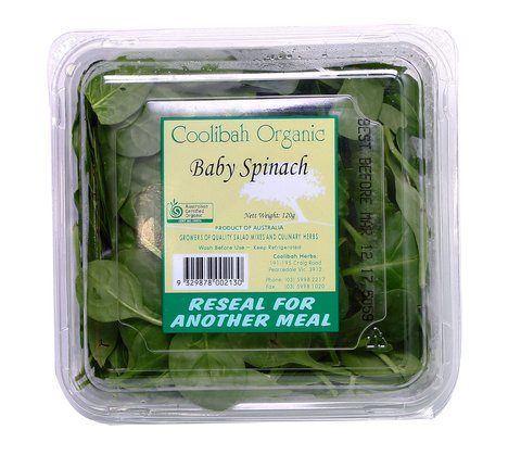 Spinach Organic - Baby (100g)