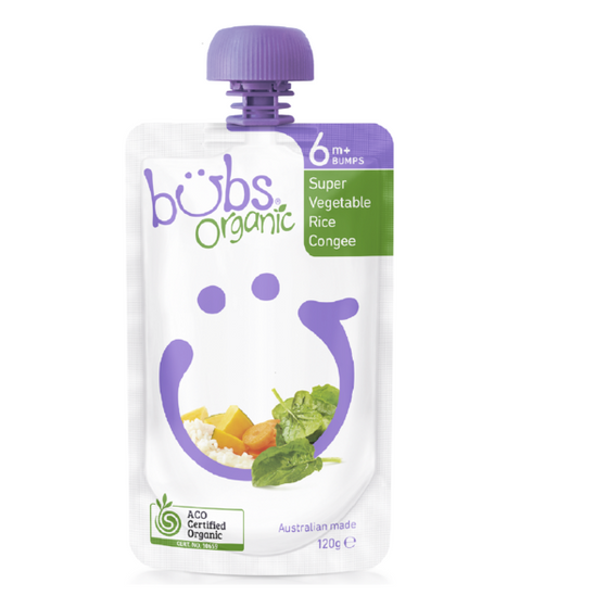 Organic Bubs - Super Vegetable Rice Congee 120g