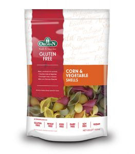 Orgran - Gluten Free Corn & Vegetable Shells 250g