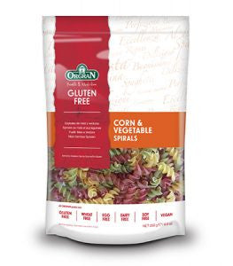 Orgran - Gluten Free Corn & Vegetable Spirals 250g