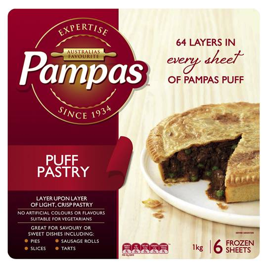 Pampas - Puff Pastry 1kg