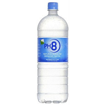 PH8 Natural Alkaline Spring Water 1.5Lt