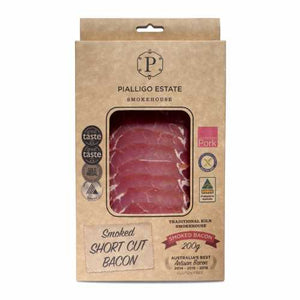 Pialligo Estate - Smoked Short Cut Bacon 200g