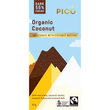 Pico Organic Coconut Chocolate 80g
