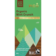 Pico - Organic Mint Crunch 63% Cacao 80g