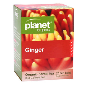 Planet Organic - Ginger 25 Bags
