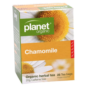 Planet Organic - Chamomile 25 Bags