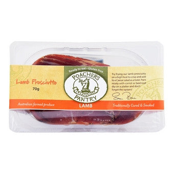 Poachers Pantry - Lamb Proscuitto (slices) 200g