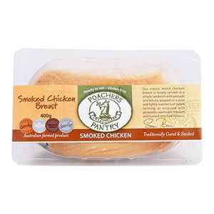 Poachers Pantry - Smoked Chicken Breast 400g