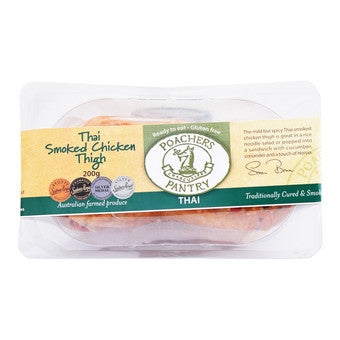 Poachers Pantry - Thai Smoked Chicken Breast 200g