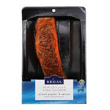 Regal - Marlborough King Salmon Mixed Pepper & Spices portion 200g