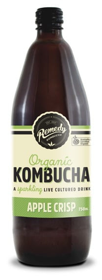 Remedy - Organic Kombucha Apple Crisp 750ml