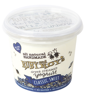 Ruby and Roy's - Classic Authentic Greek Yoghurt 350g