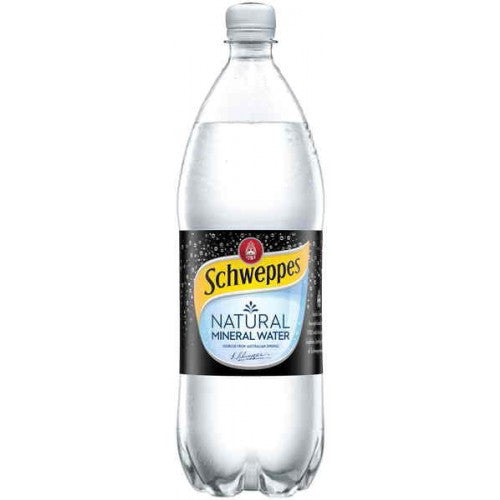 Schweppes - Natural Mineral Water 1.25Lt