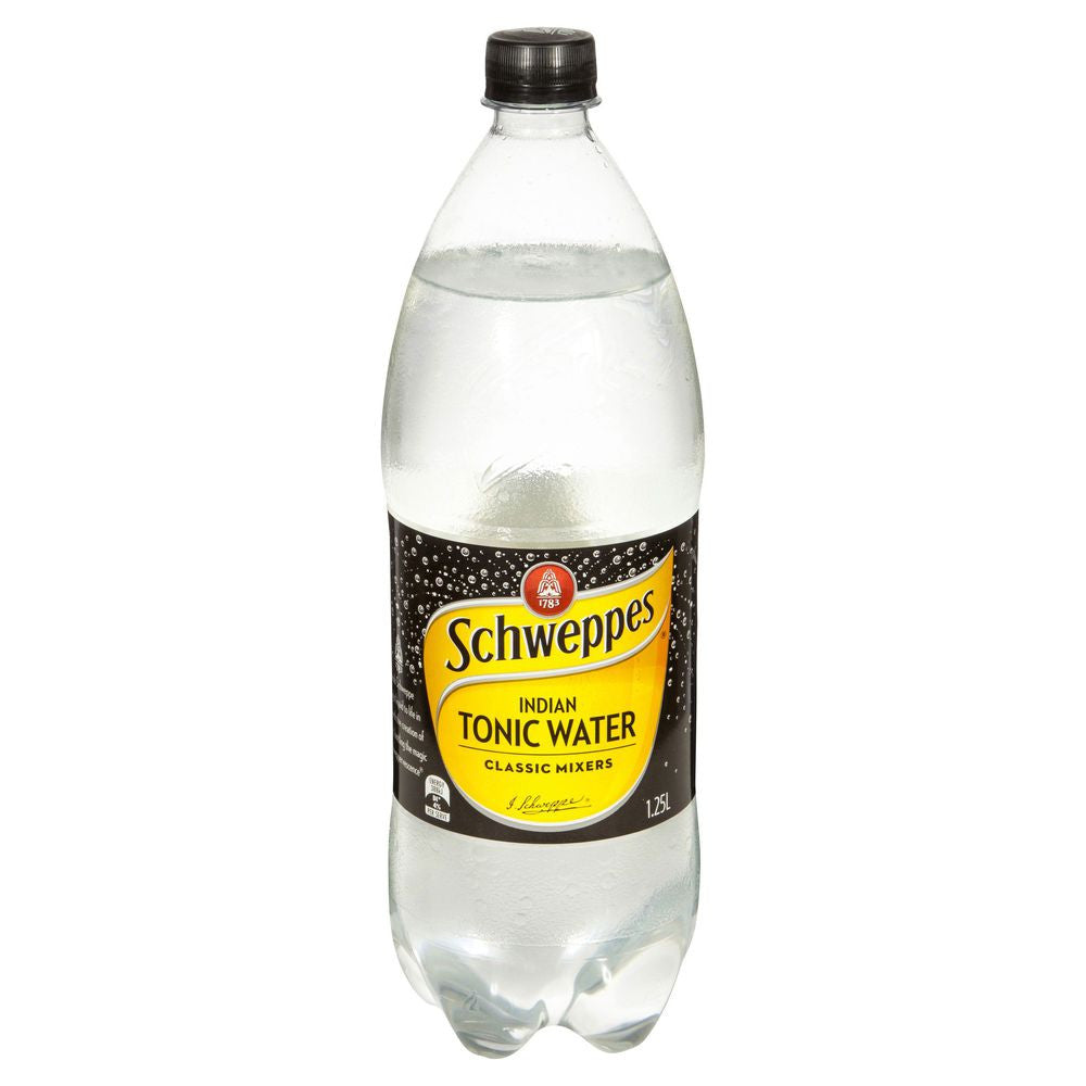 Schweppes - Indian Tonic Water 1.25Lt
